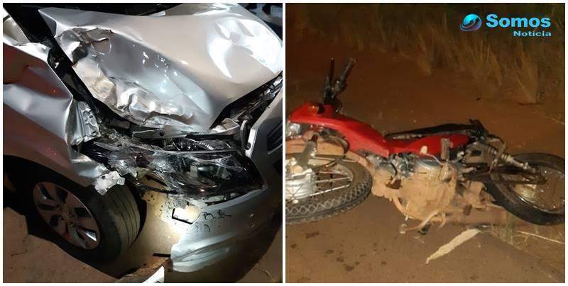 Bêbado, condutor de automóvel colide em moto e deixa dois mortos no MA
