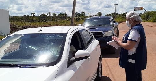 Prefeitura de Barras monta barreiras sanitárias, ao todo serão quatro