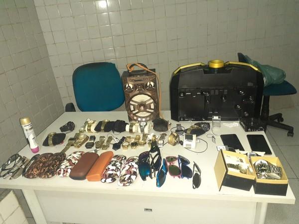 Sogra denuncia e genro é preso por suspeita roubo de produtos, no Piauí