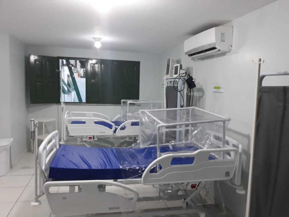 Esperantina, Hospital Estadual Dr. Júlio Hartman ganha cinco leitos de estabilização