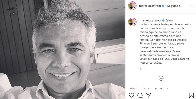Acidente mata motorista do senador Marcelo Castro, em Teresina