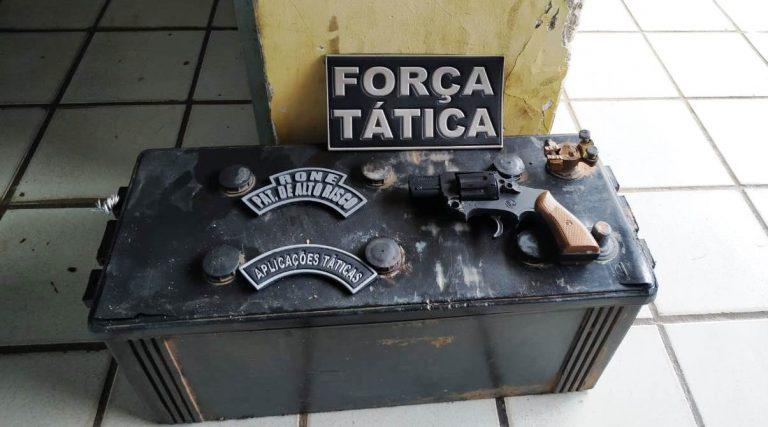 Dupla suspeita de praticar assaltos na cidade de Esperantina é presa pela Força Tática da PM