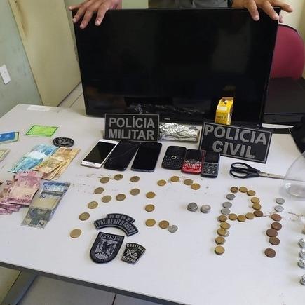 Casal acusado de tráfico de drogas e furto é preso em Piracuruca