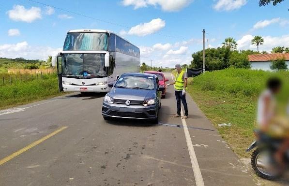 Ônibus clandestino vindo de São Paulo é interceptado no Norte do Piauí