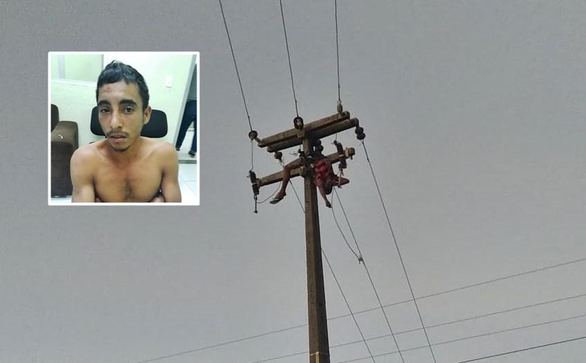 Em Parnaíba, homem morre eletrocutado em poste ao tentar furtar fios