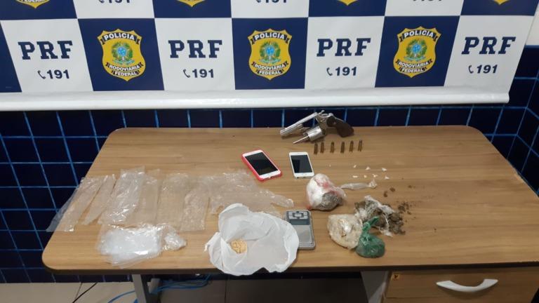 Homicida é preso com droga e arma de fogo em Piripiri