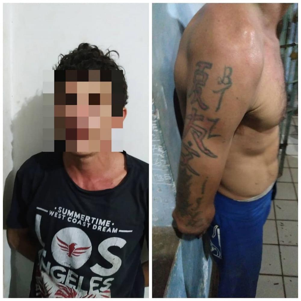 Em Esperantina, Polícia Militar prende suspeito de vários arrombamentos