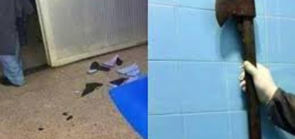 Homem invade hospital e mata adolescente de 15 anos a machadadas