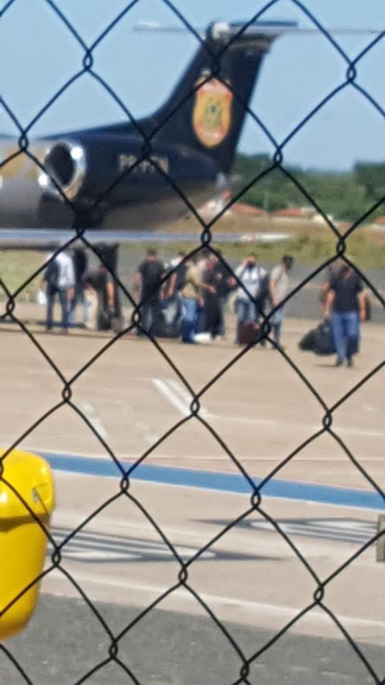 Avião da PF desembarca no Piauí e deixa muita gente apreensiva