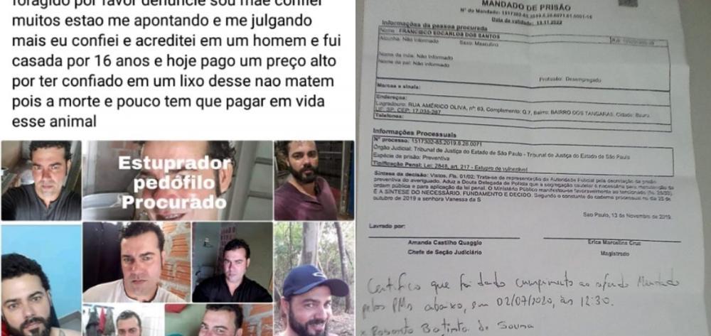 Preso no Piauí homem suspeito de estuprar as filhas de 5 e 12 anos em São Paulo