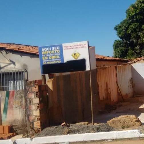 Prefeitura de Uruçuí manda apagar informações em placas de obras públicas após operação da PF