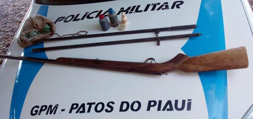 No Piauí, homem é preso após atirar contra o próprio filho