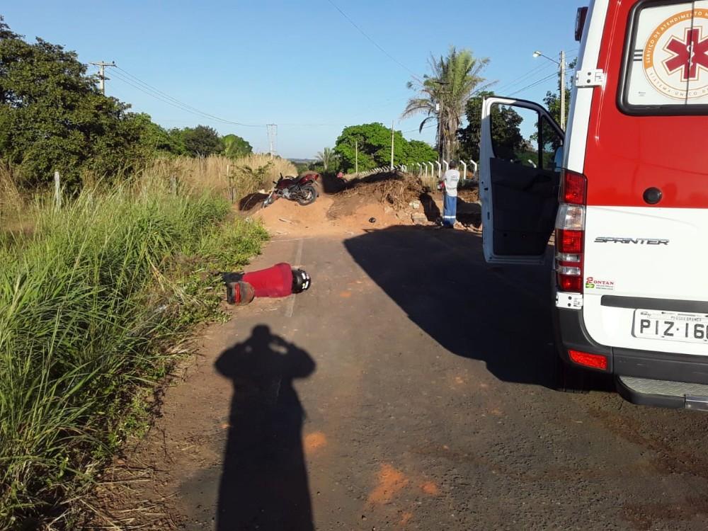 Mulher morre em acidente envolvendo motocicleta em estrada que dá cesso à BR-343