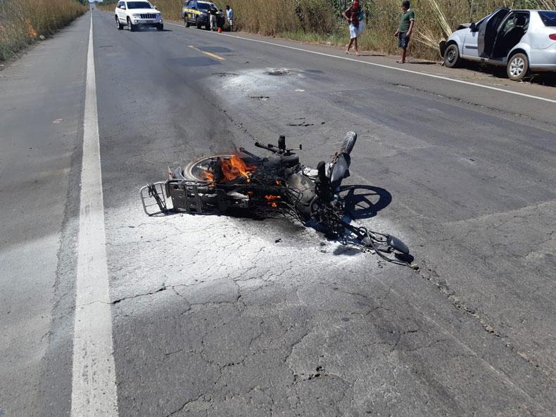 Idoso de 76 anos morre em acidente na BR-343 em Piripiri