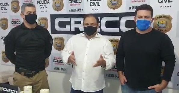 GRECO prende três suspeitos após sequestro de gerente de banco e família no Piauí
