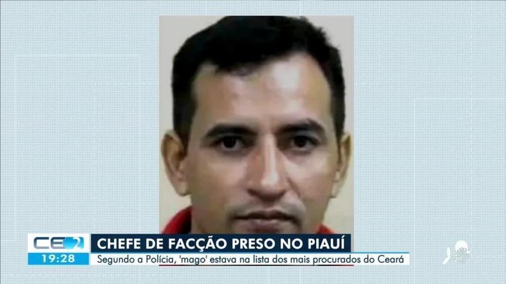 Bandido mais procurado no Ceará é preso no Piauí
