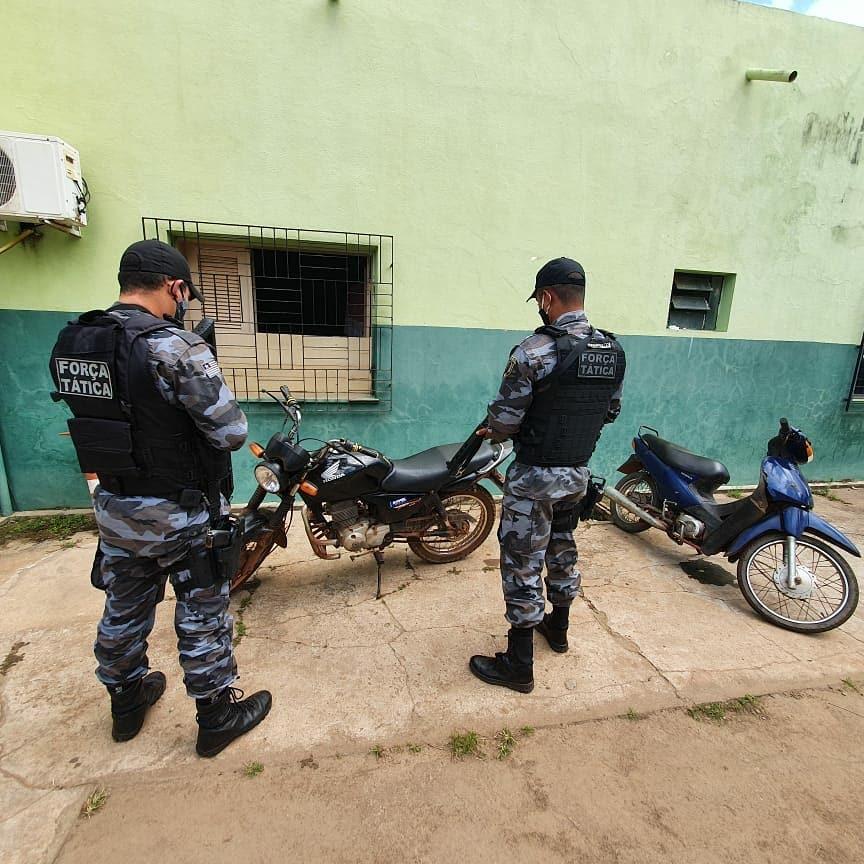 Moto é recuperada após Força Tática perseguir assaltante em Esperantina
