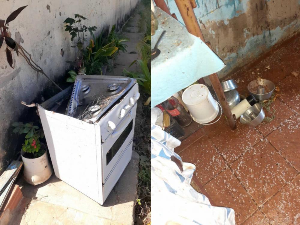 Panela de pressão explode e causa estragos em cozinha, em cidade do PI