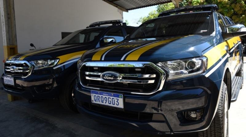 PRF recebe 21 novas viaturas para ampliar o policiamento nas BRs que cortam o Piauí