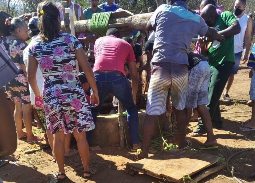 Homens caem em poço no interior do Piauí, Bombeiros são acionados