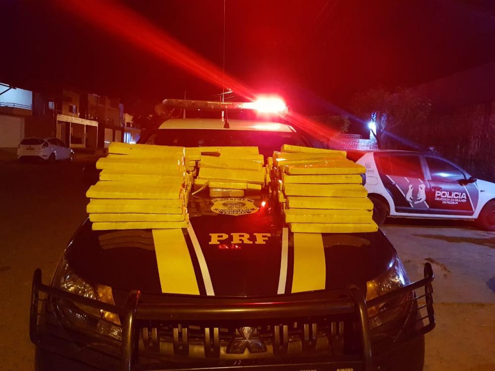 Suspeito de tráfico é preso com quase 150 kg de maconha no Piauí