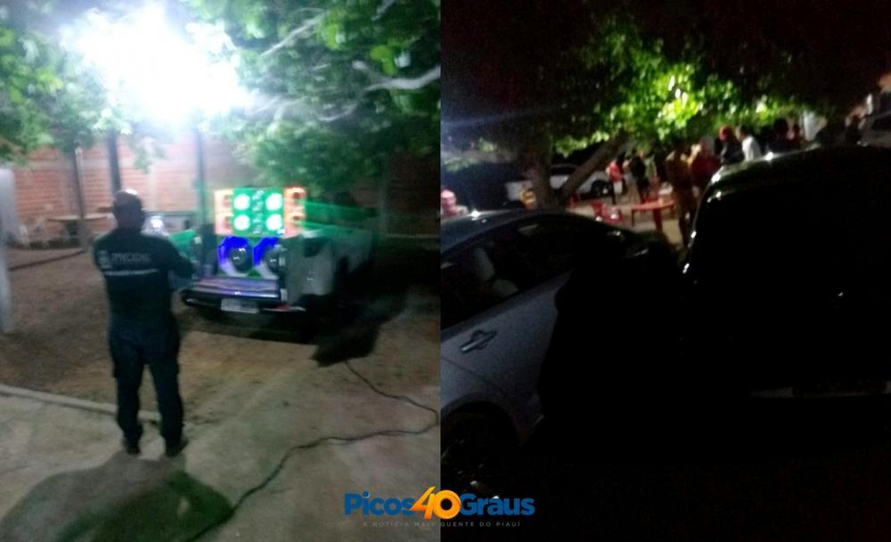 Multado pela 2ª vez por aglomeração, dono de bar rasga a multa na frente de policiais