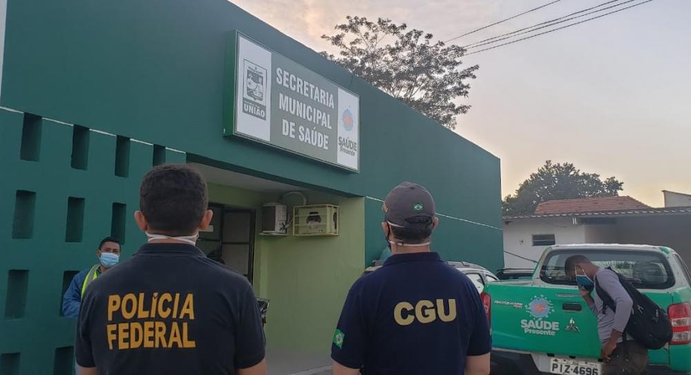 Operação da Polícia Federal apura desvio de recursos da Covid-19 na prefeitura da cidade de União