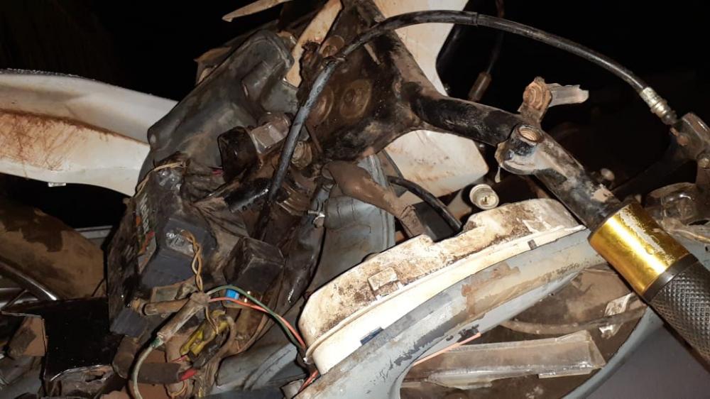 Em Esperantina, colisão entre motocicletas deixa um morto e dois feridos