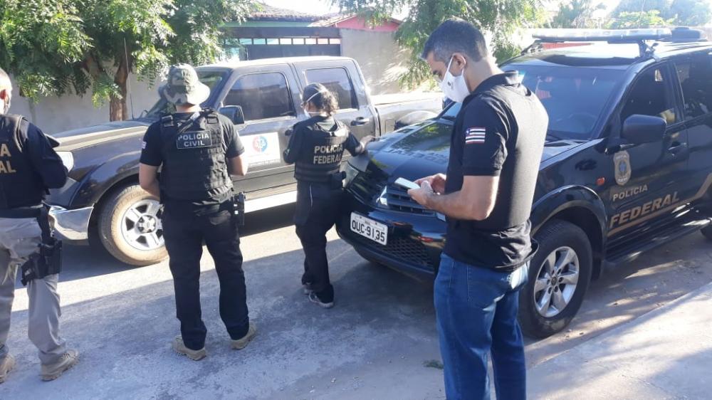 PF realiza operação que investiga documentos falsos para a compra de arma de fogo no Piauí