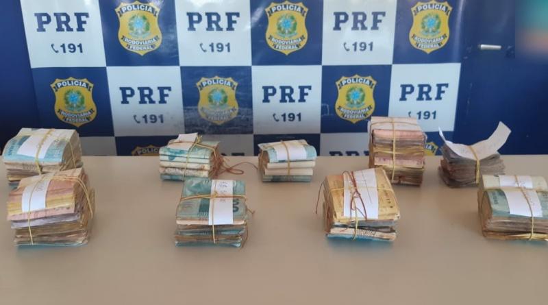 Homem é preso pela PRF na BR 316 com quase R$ 50 mil em dinheiro escondido em pneu
