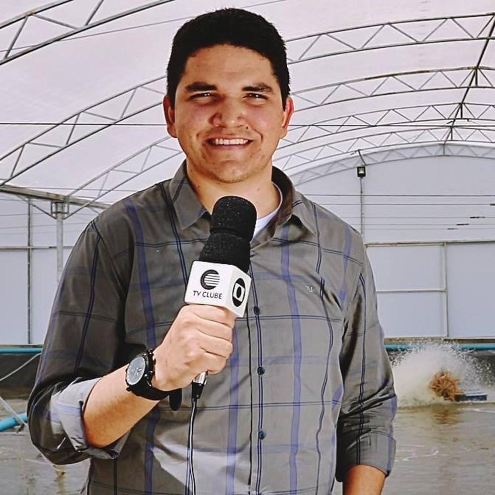 Jornalista correspondente da TV Clube em Parnaíba, morre aos 24 anos