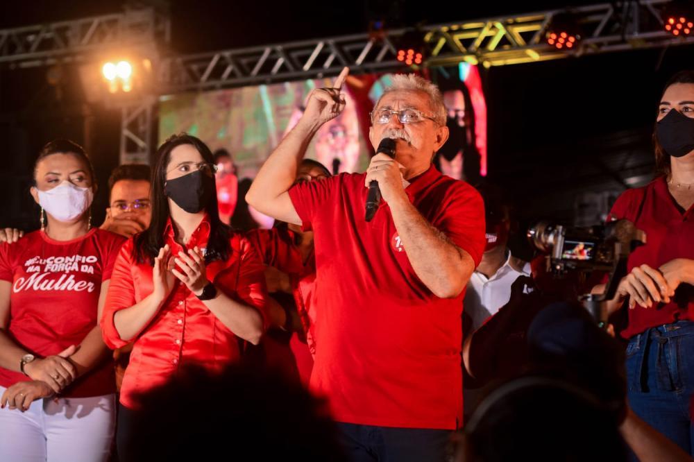 Carlos Monte é homologado pré-candidato à reeleição em Barras em convenção do PTB