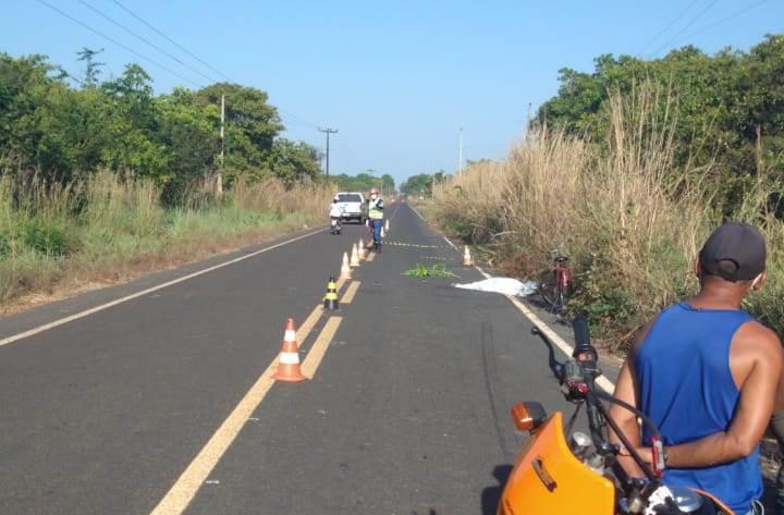 Corpo de ciclista é encontrado na PI-110 na localidade São Luiz em Barras
