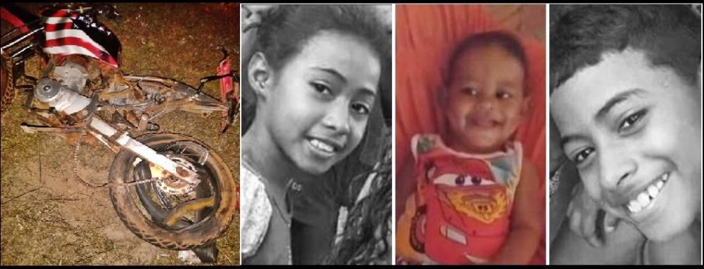 Morre a terceira criança vítima de trágico acidente na BR-222 em Batalha