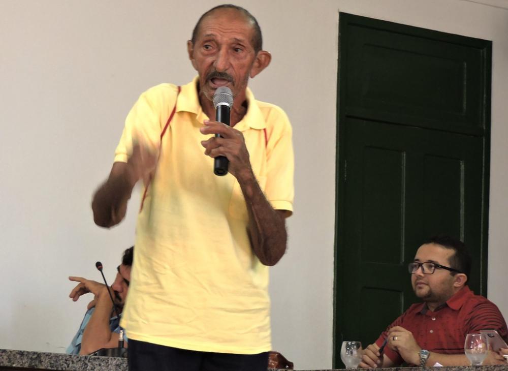 Morre aos 85 anos o sindicalista e militante histórico do PT em Batalha