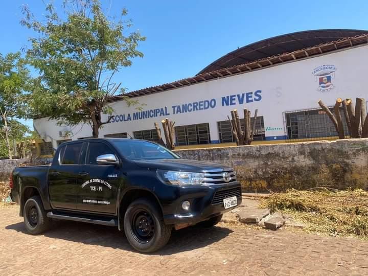 TCE fiscaliza denuncia de obras realizadas em escola no ano de 2015