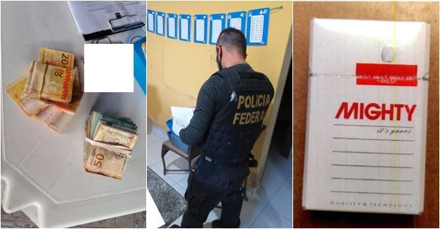 PF deflagra operação para combater contrabando de cigarros
