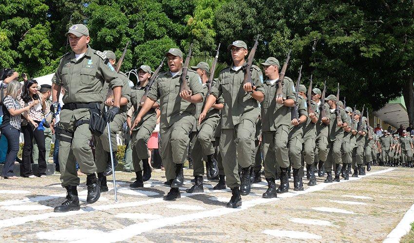 W Dias anuncia novo concurso e promoções para a Polícia Militar