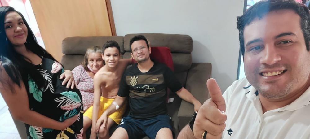 Policial Militar que foi baleado em tentativa de assalto no Piauí recebe alta médica