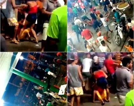 Confusão e pancadaria é registrada em aglomeração política no Piauí