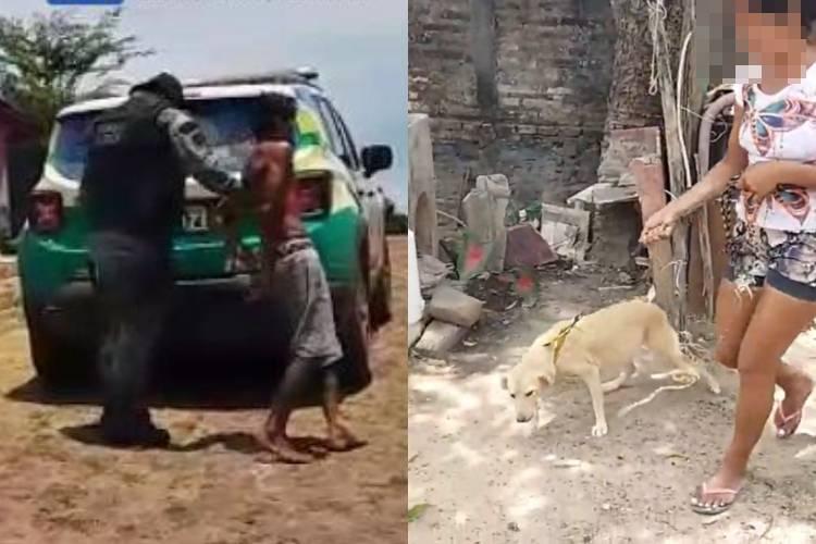 Homem é preso suspeito de estuprar cadela na cidade de Piripiri
