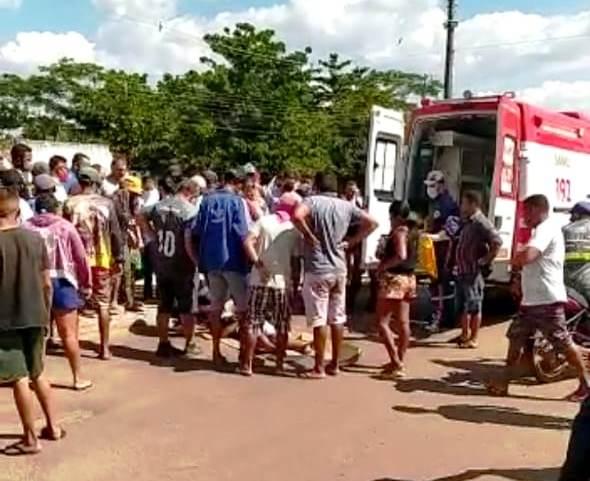 Grave acidente deixa barrense ferido em Esperantina