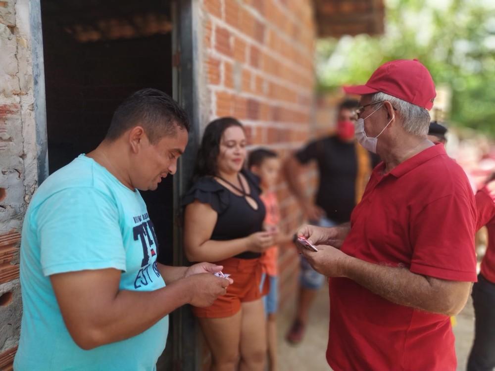 SANTINHO: Maior Bairro da cidade recebe Carlos Monte neste domingo (08)