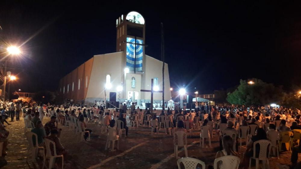 Sem a tradicional procissão do mastro, festejos da padroeira de Barras é aberto com novenário