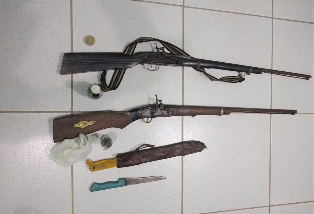 Homem é detido suspeito de ameaçar atirar em moradores no interior do Piauí