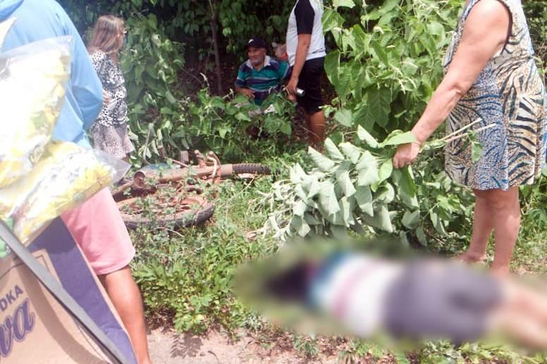 Acidente de moto deixa um ferido e uma mulher morta na PI-214