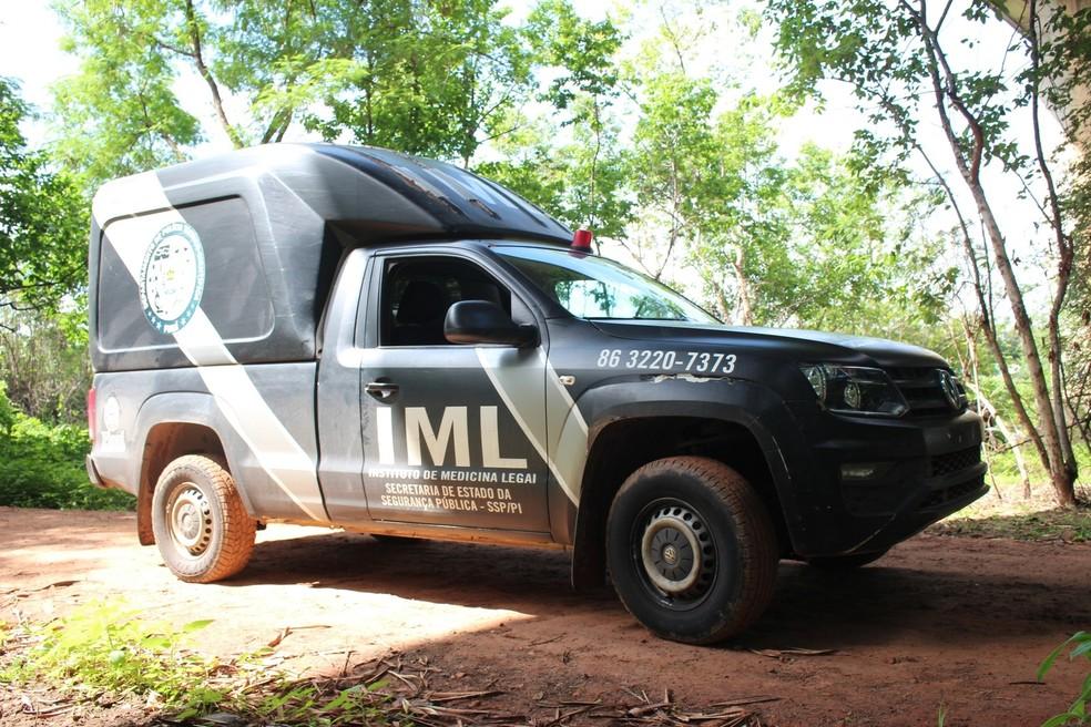 Dois homens são encontrados mortos a tiros em Luzilândia, Norte do Piauí - Foto: Veículo do IML