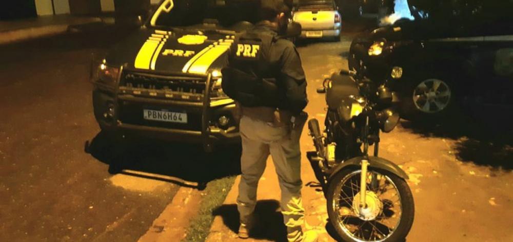 Motocicleta adulterada é apreendida na BR-020 no Piauí