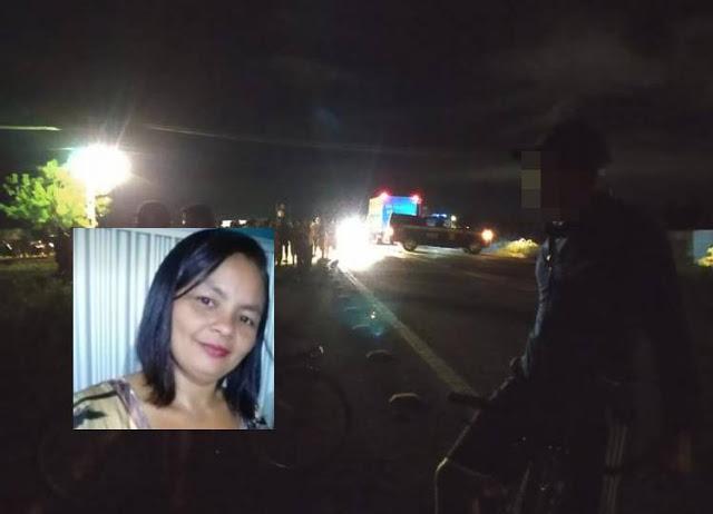 Mulher de 41 anos morre após grave colisão na BR 343 na cidade de Piripiri