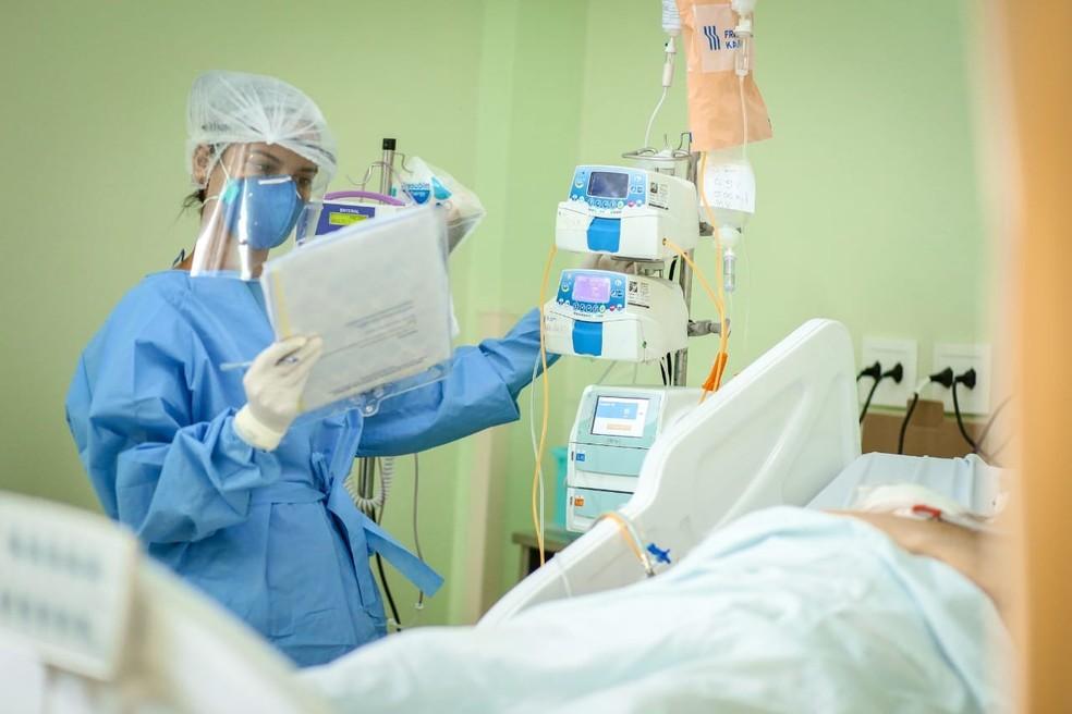 Sesapi diz que 75,3% dos leitos de UTI estão ocupados por pacientes com Covid-19